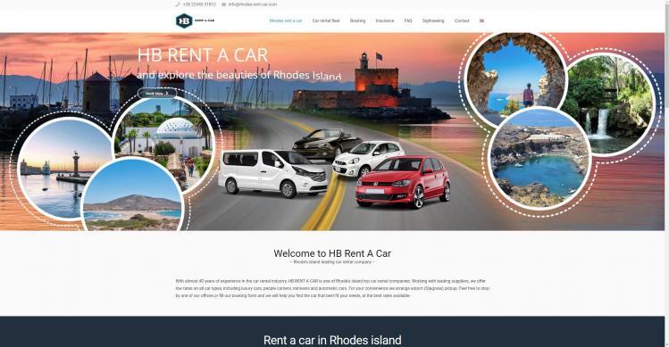 Car rental Rhodes