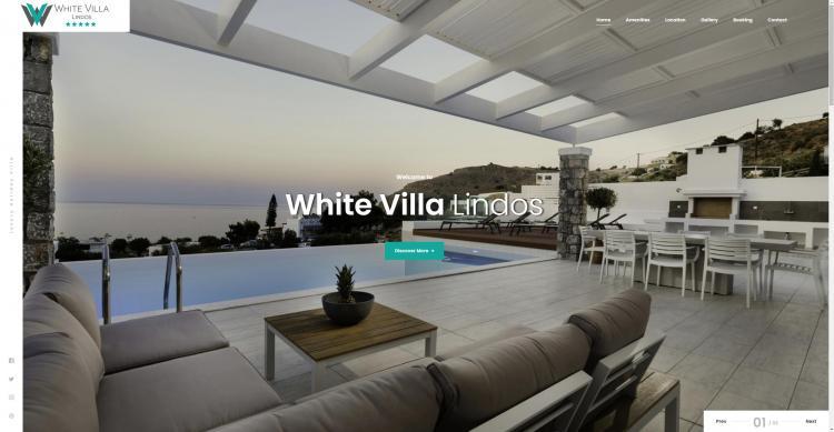 White Villa Lindos